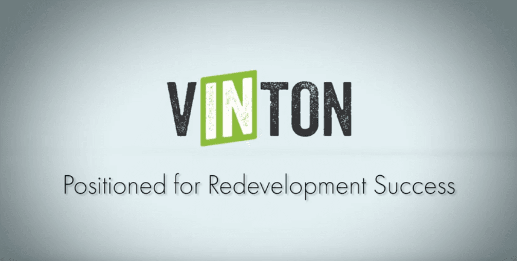 Vinton- Positioned for Redevelopment Success